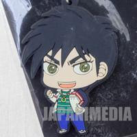 Tobaku Haouden Zero Rubber Mascot Keychain Fukumoto Nobuyuki All Stars JAPAN