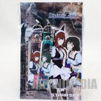 Steins ; Gate Kurisu Makise & Mayuri Shiina Strap Set JAPAN ANIME