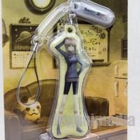 Steins ; Gate Suzuha Amane Display Cleaner Mascot Strap Taito JAPAN ANIME