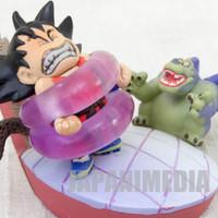 RARE! Dragon Ball Z Mini Figure Son Gokou Boy VS. Giran JAPAN ANIME CAPSULE