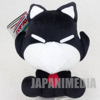 Retro Rare! Patalliro Kanja Neko Cat Plush Doll SK JAPAN ANIME MANGA