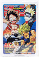 Weekly Shone Jump 40th Anniversary Trump Playing Cards NARUTO ONE PIECE DBZ