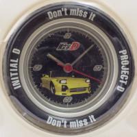 Initial D Tire Wheel Clock RX-7 FD-3S KEISUKE TAKAHASHI JAPAN ANIME FIGURE CAR