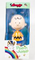 Snoopy Charlie Brown Pop'n Jump Figure La Chere Toy Peanuts JAPAN ANIME