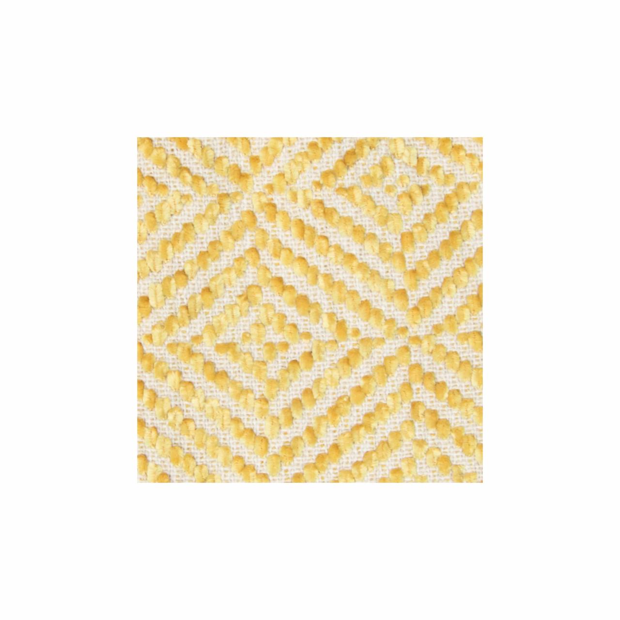 In 2 Linen Stanford Chenille Throw Rug | Saffron Yellow