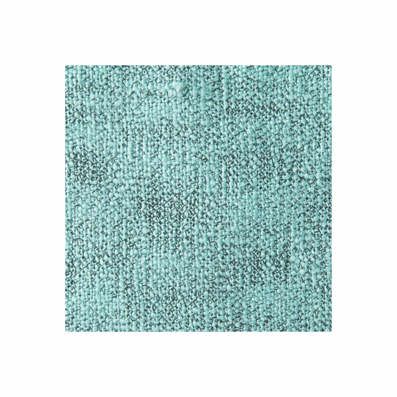 In 2 Linen Kent Knitted Throw Rug   Pearl Aqua