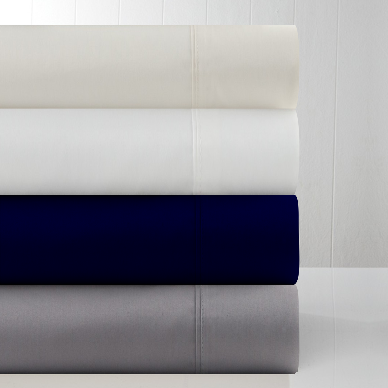 In 2 Linen 800TC Supima Cotton Mega Queen 50cm Fitted Sheet
