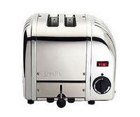 Dualit 20245 2-Scheiben Toaster Edelstahl glänzend