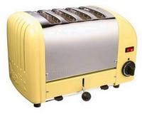 Dualit 47188 4-Scheiben Toaster kanariengelbe Ausführung