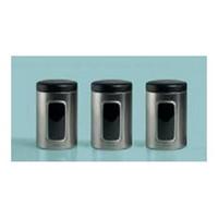 Brabantia Vorratsbehälter mit Sichtfenster 3er-Set 1.4 Liter Creme-Beige