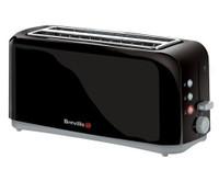 Breville VTT233 4-Scheiben Toaster schwarz