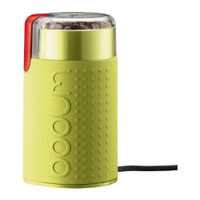 Bodum Bistro Elektrische Kaffeemühle in Limonengrün
