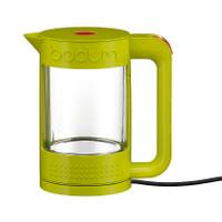 Bodum-Bistro Wasserkocher doppelwandig 1.1 Liter in Limonengrün