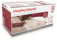 Morphy-Richards Fleece-Heizdecke 600004 in-Kingsize-Größe waschbar mit Einzelschaltung