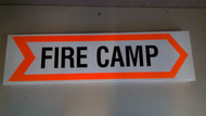 "Sign ""Fire Camp"""