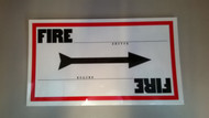 "Sign ""Fire Sector"""