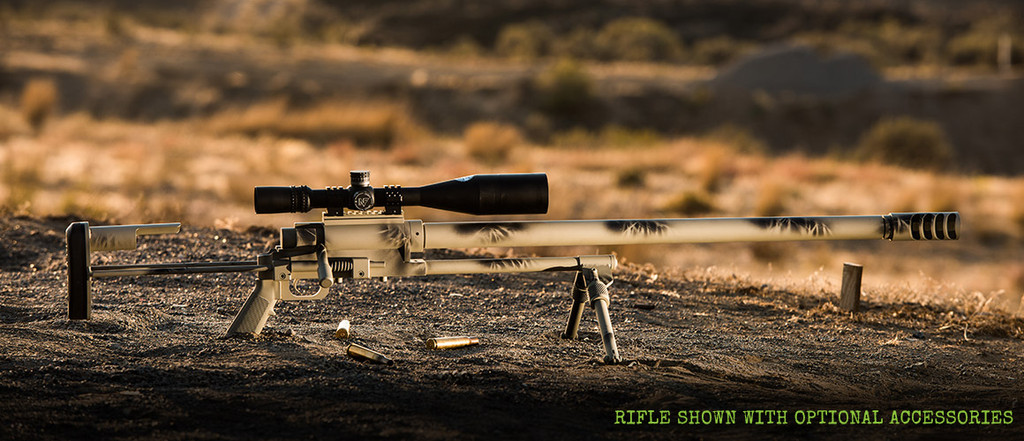 Side shot of the Noreen ULR 50 BMG