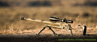 Noreen ULR 50 BMG at the range