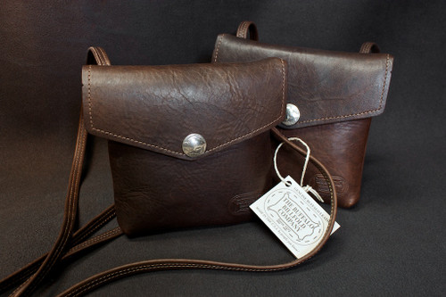 Buffalo Hide Crossbody Purse