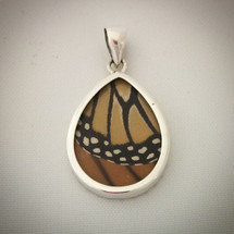 Butterfly Wing Pendant - Monarch 43-014