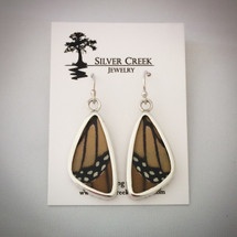 Butterfly Wing Earrings - Monarch 43-016
