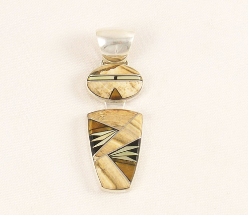 Shaman Inlay Pendant