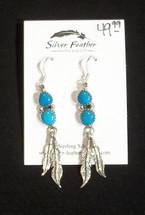 Tq Feather Earrings 41-608