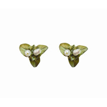 Sweet basil post earrings