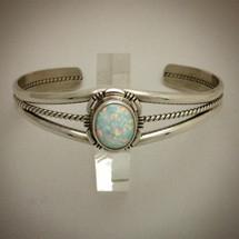 Opal Cuff Bracelet