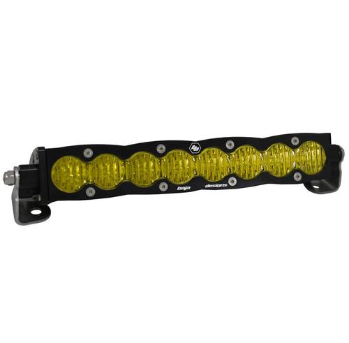 "Baja Designs S8, 10"" Wide Driving LED Light Bar, Amber"