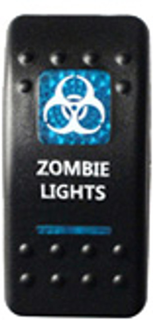 Zombie Lights Rocker Switch (Blue)