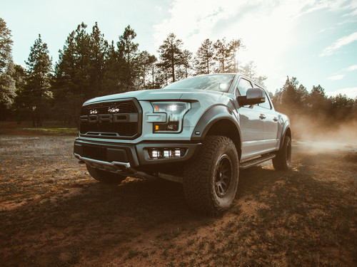 Rigid Industries 2017+ Raptor Triple Fog Light Kit