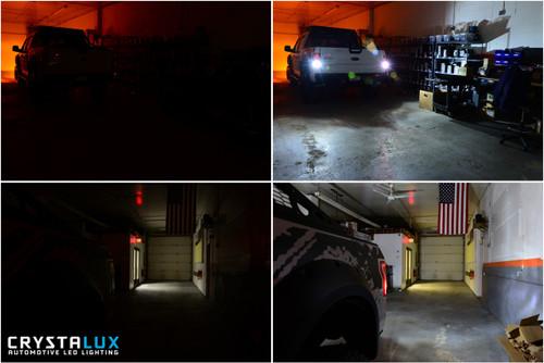 CrystaLux Reverse LED Lights (3156) for Jeep Wrangler (2007+)