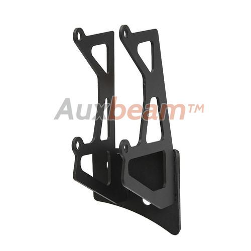 "7.6"" Dual Light Windshield A-Pillar Mounting Brackets for 2007-2015 Jeep Wrangler"