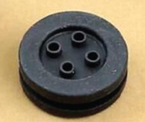 4 Position Wiring Seal/Grommet, Flat (Pair)