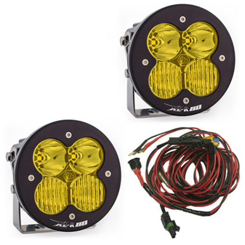Baja Designs XL-R 80, Pair Driving/Combo, Amber