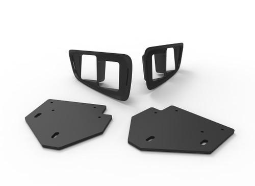 2010-2014 Ford Raptor Dual Fog Light Bezel Kit