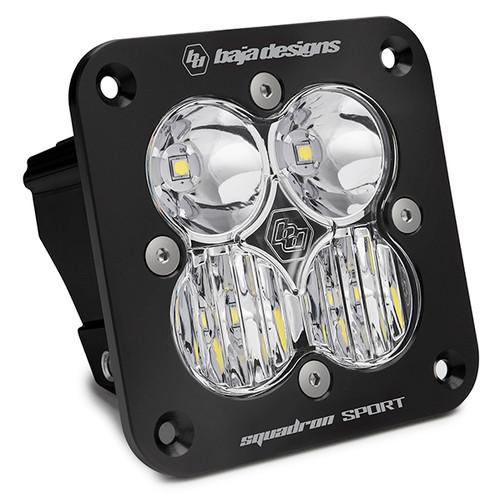 Baja Designs Squadron Sport, Flush Mount, LED Driving/Combo
