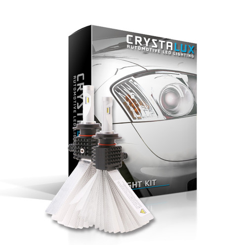 CrystaLux G9 Series LUMILEDS LED Fog Light Bulbs (9140/H10) for Ford F-150 (1999+)