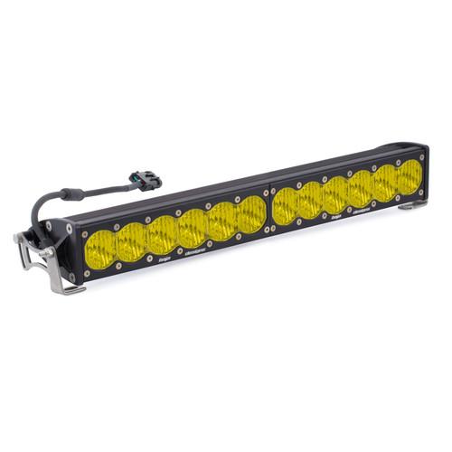 "Baja Designs OnX6, 20"" Wide Driving LED Light Bar, Amber"
