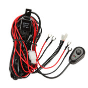 12V 40A LED Light Bar Wiring Harness Kit (Single Light)