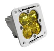 Baja Designs Squadron Pro, Flush Mount, White, LED Driving/Combo, Amber