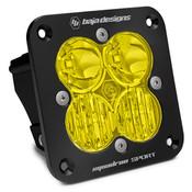 Baja Designs Squadron Sport, Flush Mount, LED Driving/Combo, Amber