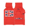 Red Union Jack Sweater