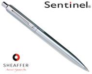 Sheaffer Sentinel Brushed Chrome N/T Ballpoint Pen