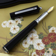 Giuliano Mazzuoli Moka Black 3 in 1 Fountain Pen