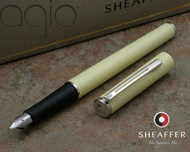 Sheaffer Agio Fashion Tranquil Yellow Fountain Pen Medium