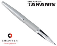 Sheaffer Taranis Sleek Chrome Featuring Chrome Plate Trim Rollerball Pen