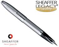 Sheaffer Legacy Heritage Deep Cut Palladium Plate Fountain Pen