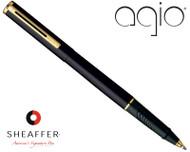 Sheaffer Agio Absolute Black Rollerball Pen